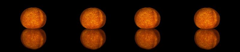 Helendavad mandariinid