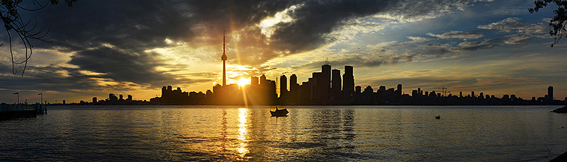 16384 x 4096px Licensed under Creative Commons. Feel free to use it in your designs. Both images download links: www.bielousov.com/2011/toronto-skyline/