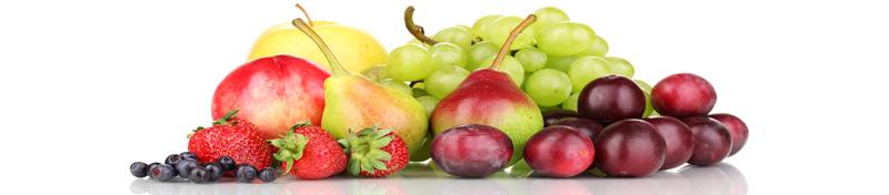 puuviljad kuhjas
